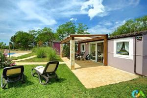 Premium Mobile Homes in Camping Park Umag
