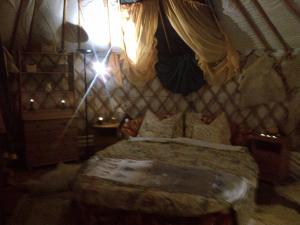 Almond Grove Yurt Hotel, Luxury tents  Ábrahámhegy - big - 3