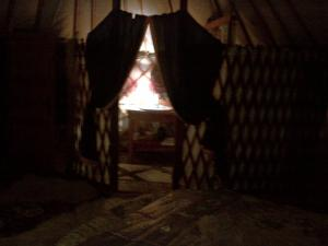 Almond Grove Yurt Hotel, Luxury tents  Ábrahámhegy - big - 41