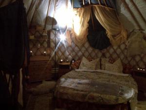 Almond Grove Yurt Hotel, Luxury tents  Ábrahámhegy - big - 42