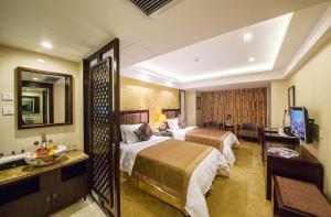 JAHO Forstar Hotel Wenshuyuan Branch, Отели  Чэнду - big - 12