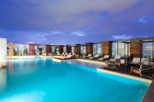 墨西哥城圣达菲希尔顿酒店 (Hilton Mexico City Santa Fe)