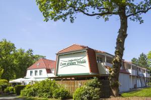 Zum grünen Walde, Гостевые дома  Нордхольц - big - 39