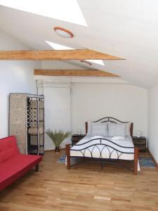 Sunny Loft Studio, Apartmány  Riga - big - 44