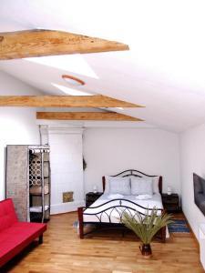 Sunny Loft Studio, Apartmány  Riga - big - 36