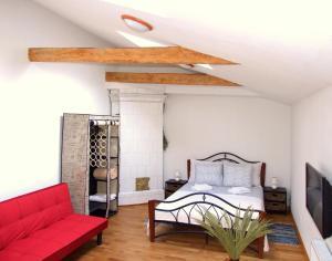 Sunny Loft Studio, Apartmány  Riga - big - 2