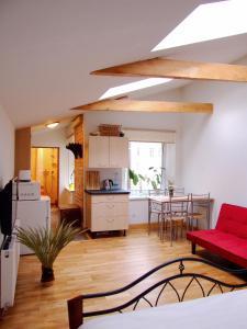 Sunny Loft Studio, Apartmány  Riga - big - 46