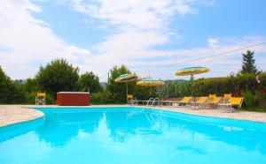Casa Di Campagna In Toscana, Загородные дома  Совичилле - big - 145