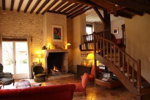 LES JARDINS DE L'AULNAIE, Bed and breakfasts  Fontaine-sous-Jouy - big - 9