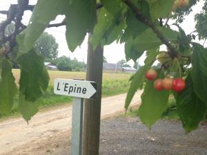 L'Epine, Ferienhäuser  Landivy - big - 17