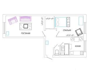 Апартаменты На Лихачевском Шереметьево - фото 12