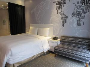 Via Loft Hotel, Szállodák  Tajpej - big - 35