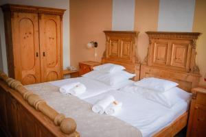 Diófa Panzió, Отели типа «постель и завтрак»  Виллань - big - 8