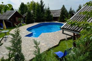 Swimming pool Camping Robinson Country Club Oradea