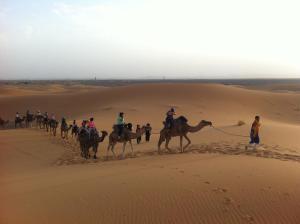 Marhaba Camp, Camel & Sandboarding, Zelt-Lodges  Merzouga - big - 49