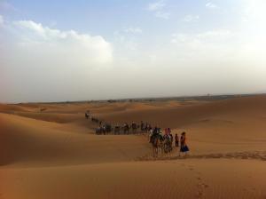 Marhaba Camp, Camel & Sandboarding, Zelt-Lodges  Merzouga - big - 47