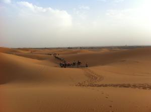 Marhaba Camp, Camel & Sandboarding, Zelt-Lodges  Merzouga - big - 48