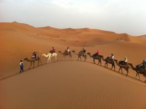 Marhaba Camp, Camel & Sandboarding, Zelt-Lodges  Merzouga - big - 38