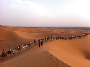 Marhaba Camp, Camel & Sandboarding, Zelt-Lodges  Merzouga - big - 55