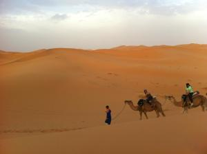 Marhaba Camp, Camel & Sandboarding, Zelt-Lodges  Merzouga - big - 45