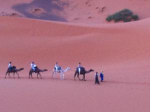 Marhaba Camp, Camel & Sandboarding, Zelt-Lodges  Merzouga - big - 56