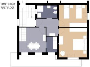 La Fonte Appartamenti, Apartmanok  Abano Terme - big - 11