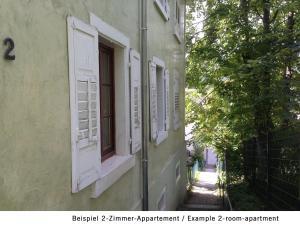 Petite Bellevue, Апартаменты  Баден-Баден - big - 34