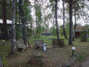 Гостиничный комплекс Деревня Александровка, Комплексы для отдыха с коттеджами/бунгало  Кончезеро - big - 14