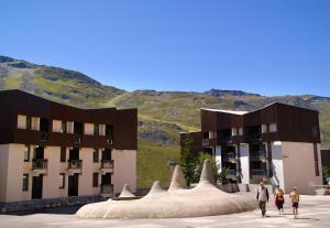 Maeva Les Combes, Residence  Les Menuires - big - 19