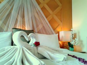 Langkawi Lagoon Resort Honeymoon Suite by De Lagoon, Üdülőközpontok  Kampung Padang Masirat - big - 9