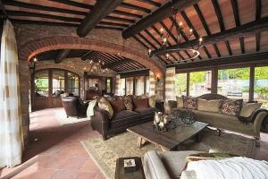 Villa in Chianti Area I, Vily  San Sano - big - 5