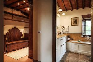 Villa in Chianti Area I, Vily  San Sano - big - 18