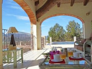 Apartment with garden, pool in Lliber