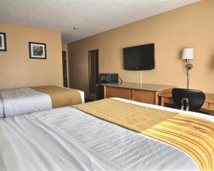 Quality Inn Hall of Fame, Hotel  Canton - big - 18