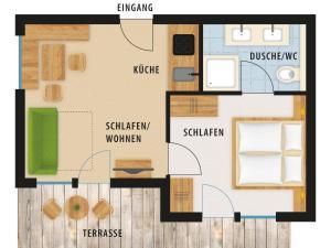 Landhaus Kalvarienberg, Apartmány  Ladis - big - 17