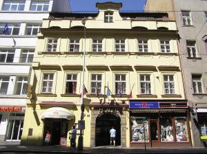 Прага - Hotel U dvou zlatych klicu