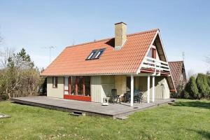Casa de Vacances de Dues Habitacions Two-Bedroom Holiday home in Glesborg 20