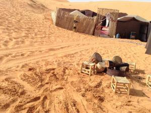 Marhaba Camp, Camel & Sandboarding, Zelt-Lodges  Merzouga - big - 75