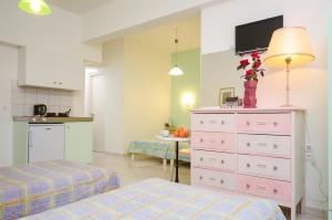 Galazia Studios, Apartmánové hotely  Naxos Chora - big - 9
