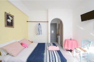 Galazia Studios, Apartmánové hotely  Naxos Chora - big - 5