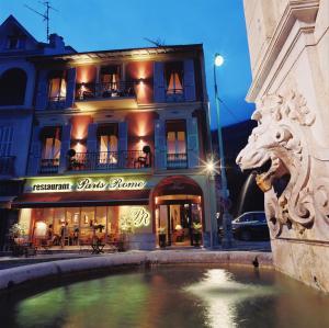 Paris Rome, Hotely  Menton - big - 1