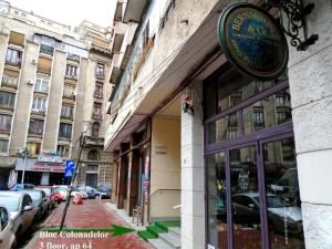 Bloc Colonadelor, Hostels  Bukarest - big - 23