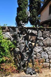 Borgo Basso, Prázdninové domy  Barberino di Val d'Elsa - big - 22