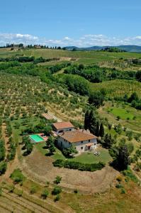 Borgo Basso, Prázdninové domy  Barberino di Val d'Elsa - big - 10