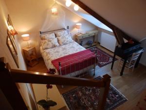 Chambres d'Hôtes Logis de l'Etang de l'Aune, Bed & Breakfasts  Iffendic - big - 17