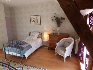Chambres d'Hôtes Logis de l'Etang de l'Aune, Bed and breakfasts  Iffendic - big - 49