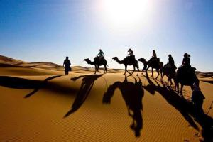 Marhaba Camp, Camel & Sandboarding, Zelt-Lodges  Merzouga - big - 78