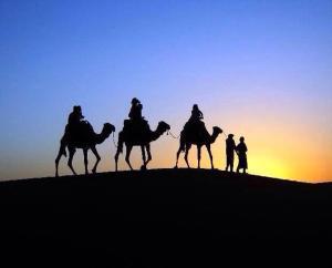 Marhaba Camp, Camel & Sandboarding, Zelt-Lodges  Merzouga - big - 79