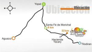 Hotel Campestre San Juan de los Llanos, Vily  Yopal - big - 22