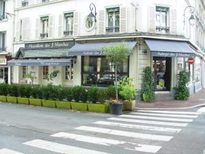 L'Auberge des 3 Marches, Отели  Le Vésinet - big - 26